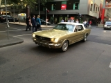 Mustang in Chinatown, Melbourne