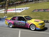 Catherine Coleiro in her Driftcat Commodore