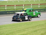Mini Cooper S and FX Holden at Sandown