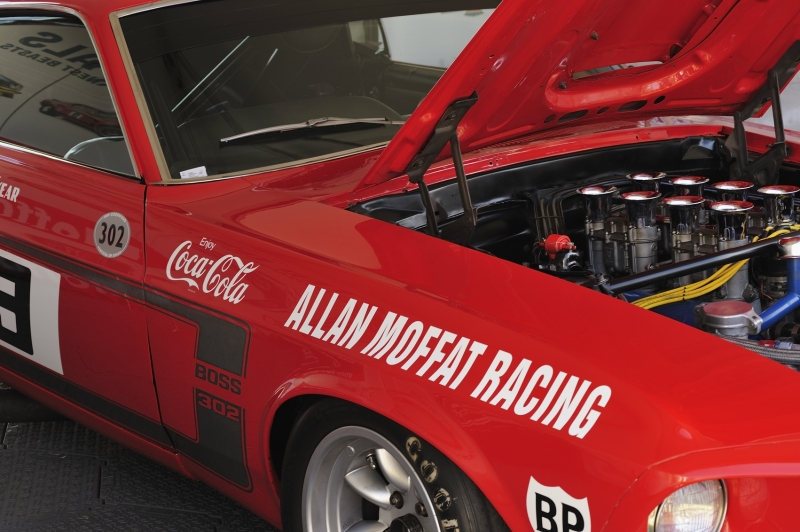Cavalcade Of Customs >> Allan Moffat's Trans Am Mustang – Car Cavalcade