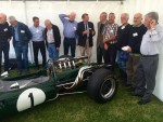 Former Repco-Brabham staff with the 1966 world championship winning BT19